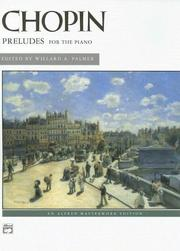 Cover of: Chopin - 24 Preludes for the Piano