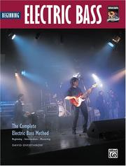 Cover of: Complete Electric Bass Method | David Overthrow