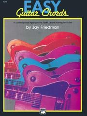 Cover of: Easy Guitar Chords