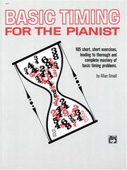Cover of: Basic Timing for Pianists