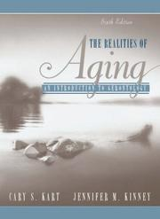 Cover of: The realities of aging : an introduction to gerontology