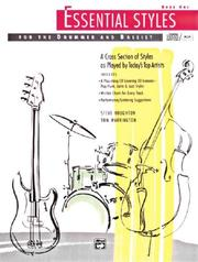 Cover of: Essential Styles for the Drummer and Bassist, Book 1