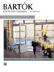 Cover of: Pieces for Children (Alfred Masterwork Edition) |