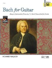 Cover of: Bach for Guitar, Masters in Tab