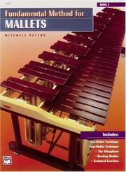 Cover of: Fundamental Method for Mallets, Book 2