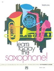 Cover of: Learn To Play The Clarinet