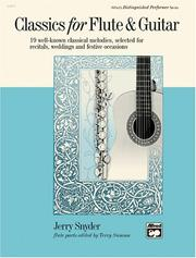 Cover of: Classics for Flute and Guitar