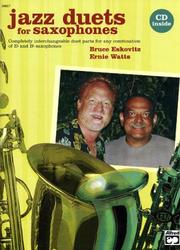 Cover of: Jazz Duets for Saxophones (Book & Cd) | Bruce Eskovitz