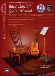 Cover of: Basic Classical Guitar Method 1