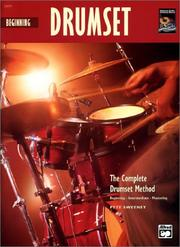 Cover of: Beginning Drumset (Book & Cd) (Complete Drumset Method)