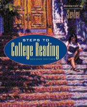 Cover of: Steps to college reading
