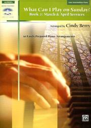 Cover of: What Can I Play on Sunday? | Cindy Berry