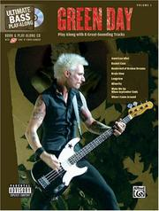 Cover of: Green Day Book & Play Along CD (Bass Guitar) (Ultimate Play-Along)