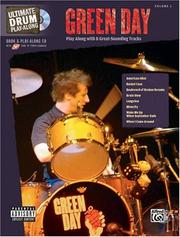 Cover of: Green Day Book & Play Along CD (Drums) (Ultimate Drums Play-Along)