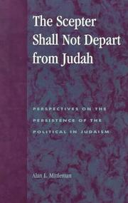 Cover of: The Scepter Shall Not Depart from Judah