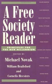 Cover of: A free society reader |
