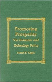 Cover of: Promoting prosperity