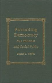 Cover of: Promoting Democracy