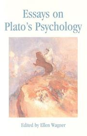 Cover of: Essays on Plato's Psychology