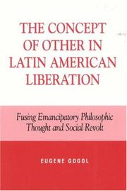 Cover of: The Concept of Other in Latin American Liberation