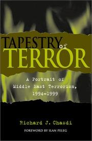 Cover of: Tapestry of Terror