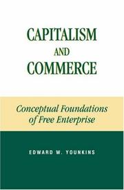 Cover of: Capitalism and Commerce