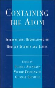 Cover of: Containing the Atom