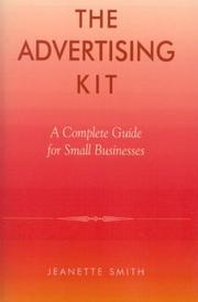 Cover of: The Advertising Kit | Jeanette Smith