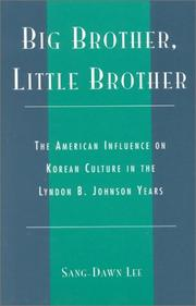 Cover of: Big brother, little brother | Sang-Dawn Lee