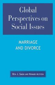 Cover of: Global Perspectives on Social Issues