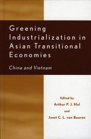 Cover of: Greening Industrialization in Asian Transitional Economies