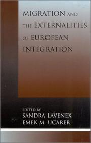 Cover of: Migration and the Externalities of European Integration