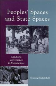 Cover of: Peoples' Spaces and State Spaces