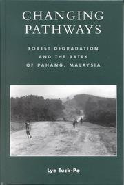 Cover of: Changing Pathways