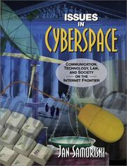 Cover of: Issues in Cyberspace