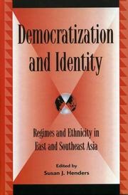 Cover of: Democratization and Identity