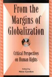 Cover of: From the Margins of Globalization
