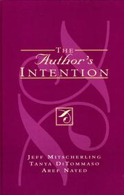 Cover of: The Author's Intention