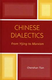 Cover of: Chinese Dialectics