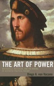 Cover of: The Art of Power | Diego A. von Vacano