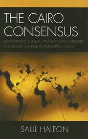 Cover of: The Cairo Consensus