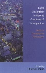 Cover of: Local Citizenship in Recent Countries of Immigration