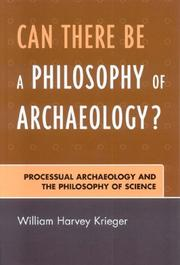 Cover of: Can there be a philosophy of archaeology?