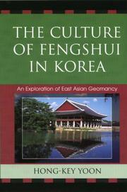 Cover of: The Culture of Feng-Shui in Korea