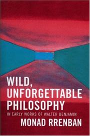 Cover of: Wild, Unforgettable Philosophy
