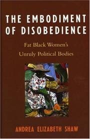 Cover of: The Embodiment of Disobedience