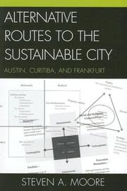 Cover of: Alternative Routes to the Sustainable City