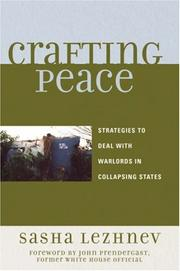 Cover of: Crafting Peace