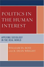 Cover of: Politics in the Human Interest