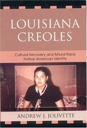 Cover of: Louisiana Creoles